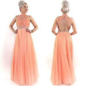 Modest Prom Teen Pageant Dress